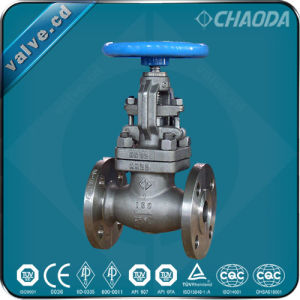 JIS Cast Steel Flanged Ends Globe Valve Ce Approval pictures & photos