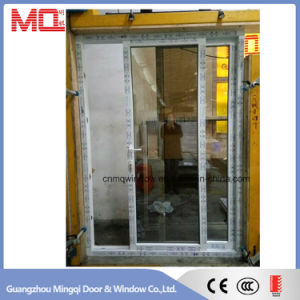 Exterior UPVC/PVC Glass Sliding Door with Multipoint Lock System