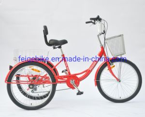 "20""/24""/26"" Steel Trike Tricycle with Back Rest (PDTK-A106)"