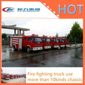 Hot Sale Fire Fighting Truck with Water / Foam Tank pictures & photos