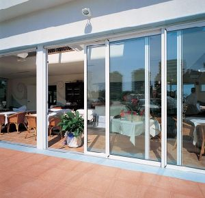 Aluminium Doors Factory Double Glazed Aluminium Sliding Doors with As2047 As2208 As1288 pictures & photos