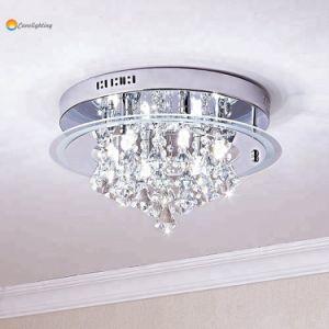 Ceiling Light Fixture Led Crystal Lamp