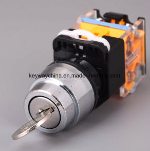 Keyway IP40 Key Type Pushbutton Switch (LA118M series) pictures & photos