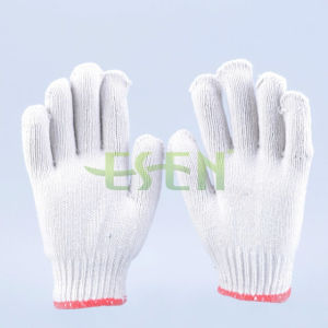 Good Knitted Cotton Work Glove Poly Cotton Knitted Gloves Work Gloves