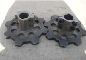OEM Large Founding Casting Parts for Garden Machine Harvester