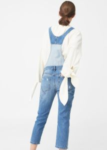 Medium Wash Medium Denim Jumpsuit pictures & photos