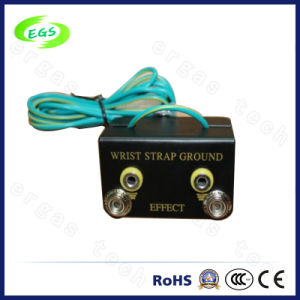 PU ESD Antistatic Wrist Grounding Socket (EGS-507) pictures & photos