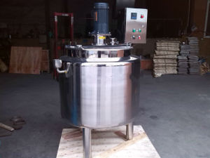 Steam Electric Heating Jacket Tank with Mixer Mixing Tank pictures & photos