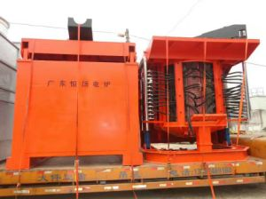 Induction Melting Furnace for Steel Concentrate in China pictures & photos
