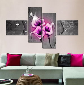 China Modern Flower Oil Painting For