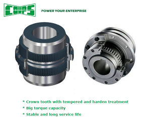 Tempered and Harden Gear Coupling