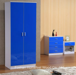 Classic Ottawa High Gloss Bedroom Wardrobe Closet Set pictures & photos