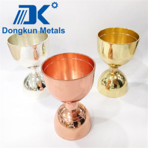 Silver Plating Wine Cup with Precision Casting pictures & photos