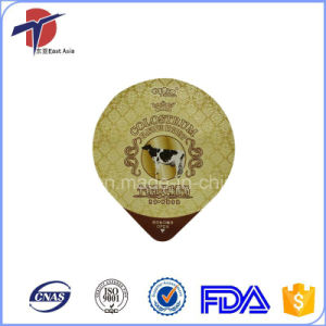 Stable Delivery Coated Aluminium Foil Lids pictures & photos