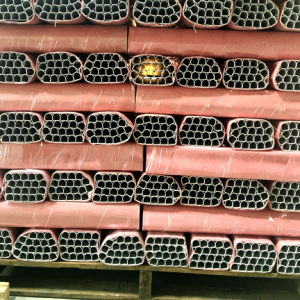 Aluminium Profile/Aluminum Extrusion Pipe with Bended Side pictures & photos