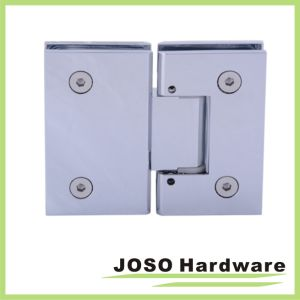 Brushed Nickel Adjustable 180 Degree Glass-to-Glass Hinge pictures & photos