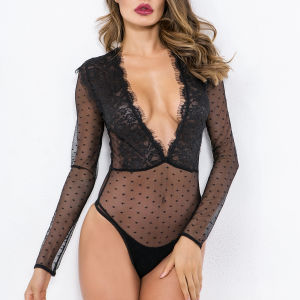 17ae6673a893 China Long Sleeve Bodysuit, Long Sleeve Bodysuit Manufacturers, Suppliers |  Made-in-China.com