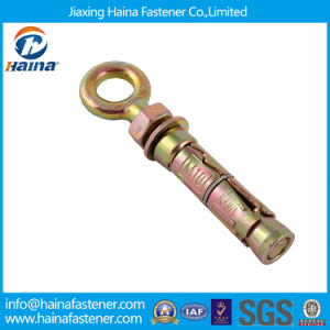 Zinc Plated Carbon Steel Expansion Eye Bolt Long Shank pictures & photos
