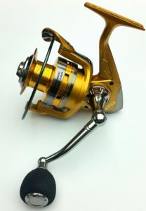 Gold Fishing Reel Aluminium Spool Fishing Tackle pictures & photos