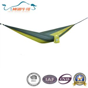 210t Nylon Fabric Outdoor Hammock for Kids and Family