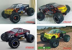1/5 Scale Gas Powered 4WD off-Road Radio Control Truck