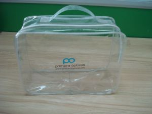 Durable Clear PVC Zipper Wire Bag pictures & photos