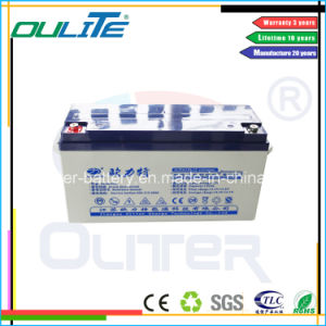 Industry Battery Lead Acid Solar Battery UPS Battery (12V130ah)