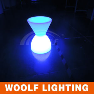LED Plastic Lighted Drum Chairs for Kids Party