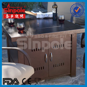 Stainless Steel Gas Fire Pit Table (KLD4001SS) pictures & photos