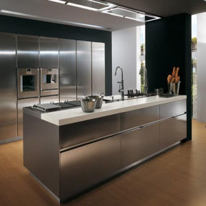 Custom Made UV Glossy Kitchen Cabinet Door (ZHUV factory) pictures & photos