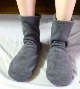 Hot Cold Ice Gel Pack for Pain Relief Beneficial to Human Body Health SPA Socks (P20134)