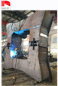 Q345e Construction Machinery Welding Spare Part Conversion Section