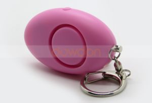 Clip Key Chain Emergency Flashlight Portable Mini Personal Alarm Body Guard pictures & photos