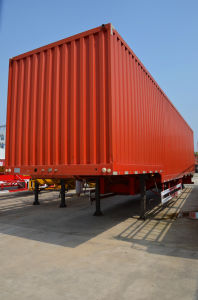 Trailer Manufacturer Cargo Semi Trailer/Van Semi Trailer with 3 Axle