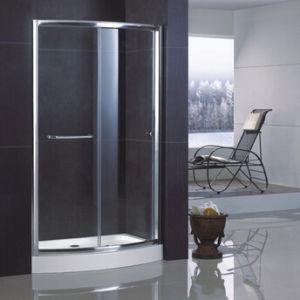 6 Mm Tempered Gl Bowfront Shower Door