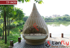 Outdoor Wicker Rattan Nestrest Hanging Bed Water Drop Nest