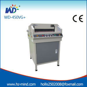 New Design Office Equipment Small Paper Cutting Machine (WD-450VG+) pictures & photos