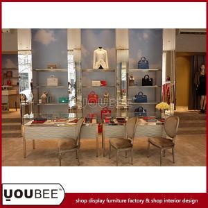 China Attractive Ladies Handbag Display Showcases For Shop Interior
