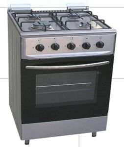 4 Gas Burners Free Standing Gas Cooker with Oven pictures & photos