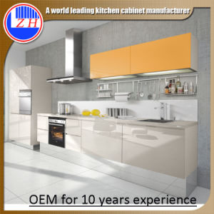 Whole Set Prefab Model Kitchen Cabinets (zhuv) pictures & photos