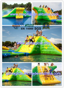 Inflatable Water Plaftform Inflatable Jumping Tower Inflatable Water Slide (RA-1040) pictures & photos