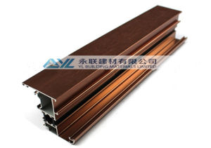 Yl Aluminium Profile for Wood Grain Transfer pictures & photos