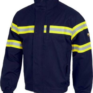 Good Quality Work Uniform Jacket with Reflective Tape, High Visibility Workwear (UF233W) pictures & photos
