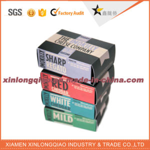 Custom Design Paper Cardboard Private Label Dairy/Cheese Packaging Box pictures & photos
