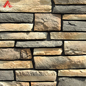 China Fireplace Stone Refacing Exterior Artificial Stone Products