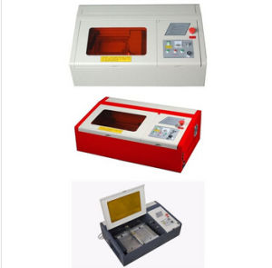 High Quality Desktop Mini Laser Engraving Machine 3040 pictures & photos