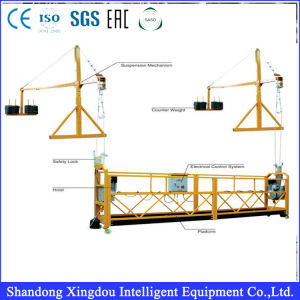 Zlp 630 Suspended Working Platform Used as Construction Gondola for Scaffolding Powered Cradle pictures & photos