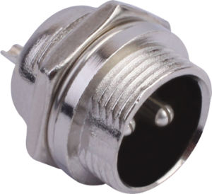 Circular Cable Power Waterproof Connector (M16-2b)