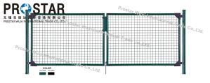 Fence Gate, Iron Gate, Garden Gate, Round Post Gate, Single Wing Gate, Double Wings Gate pictures & photos