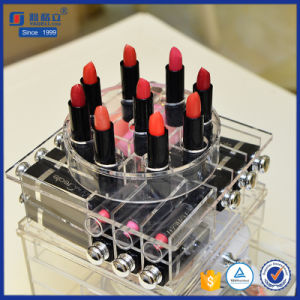Perfect Rotating Acrylic Beauty Drawer Lipstick Storage Containers